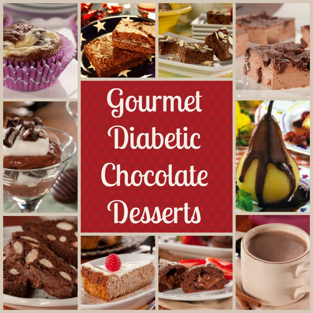 Good Desserts For Diabetics  Gourmet Diabetic Desserts Our 10 Best Easy Chocolate