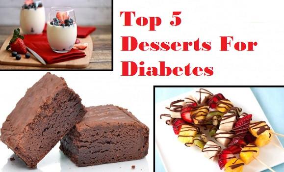 Good Desserts For Diabetics  5 Best Dessert Recipes for Diabetic Patients