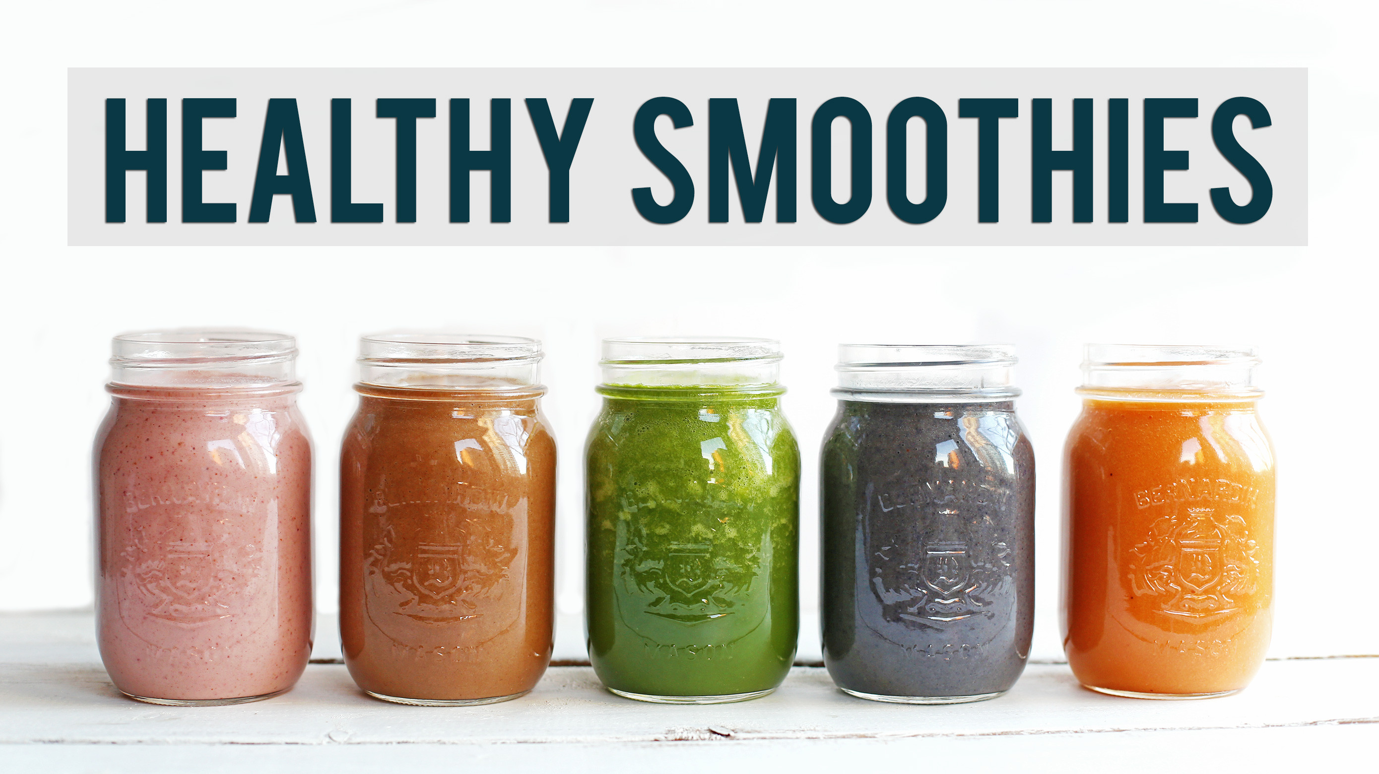 Good Healthy Smoothies  5 Healthy Breakfast Smoothies Fablunch