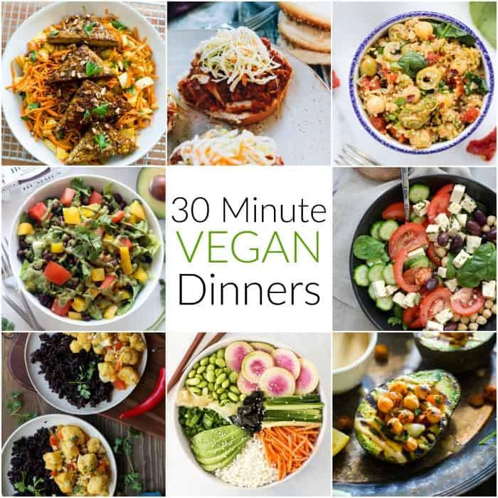 Good Vegan Dinners  30 Minute Vegan Dinners Hummusapien