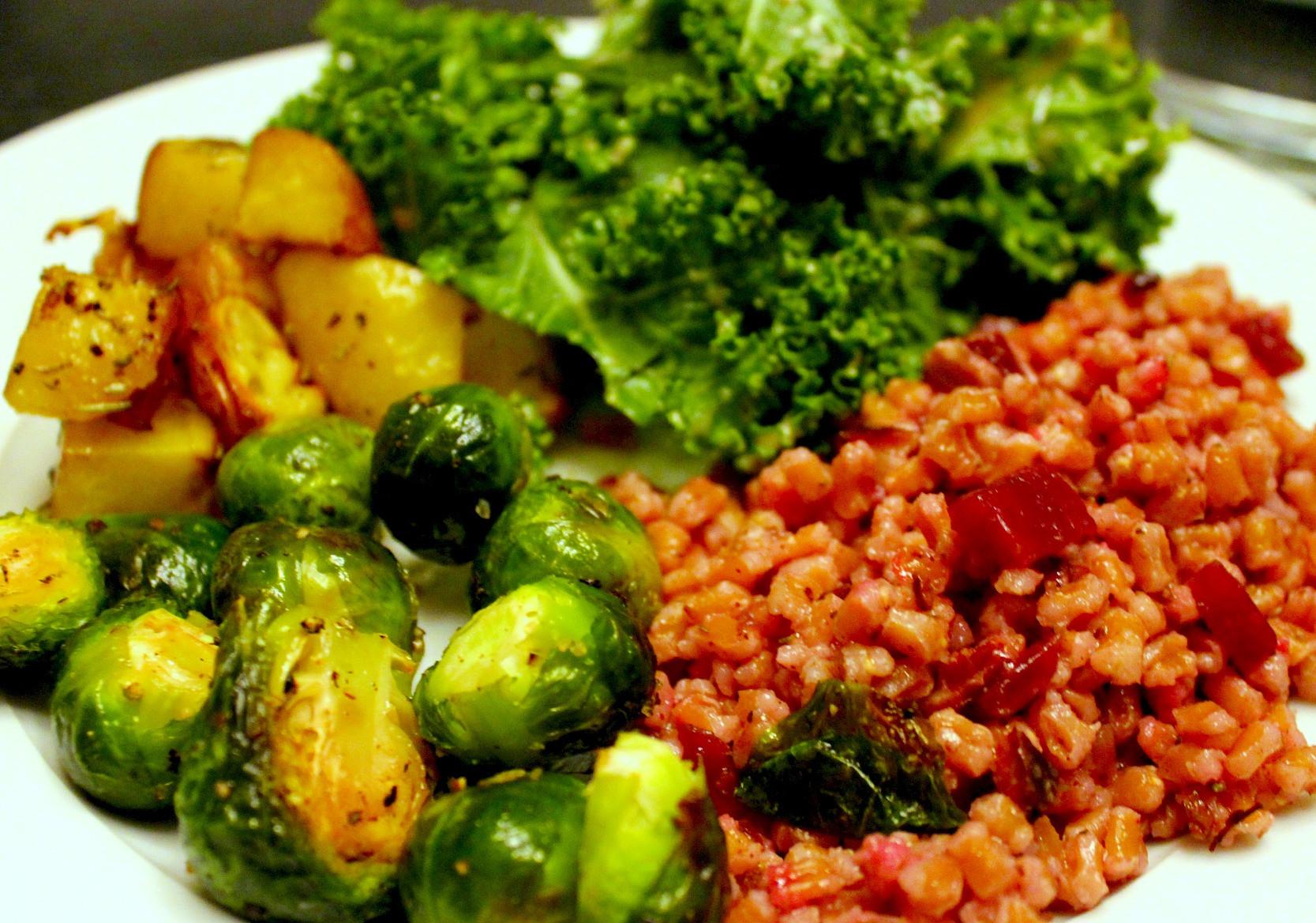 Good Vegan Dinners  A Typical Vegan Meal