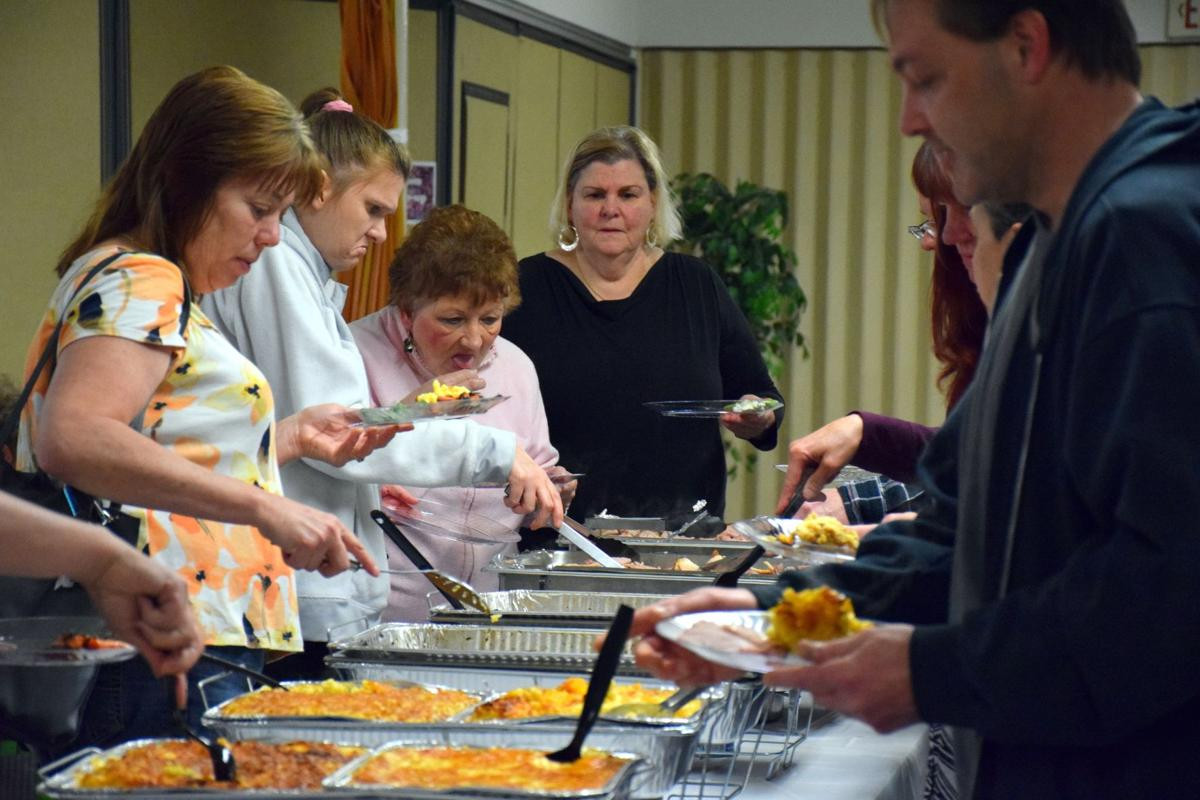 Grace For Easter Dinner  PHOTO GALLERY Souderton church holds annual free