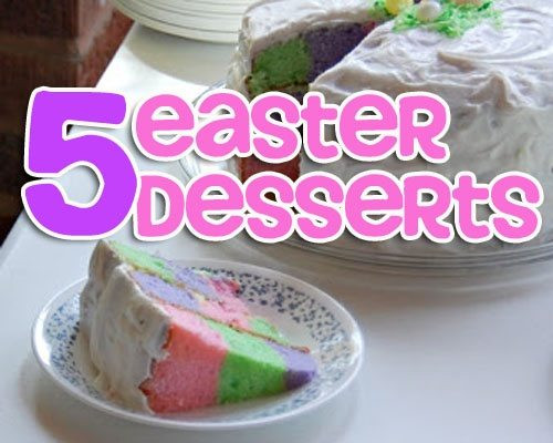 Great Easter Desserts  Recipe Roundup Easter Sweets GOODEness Gracious