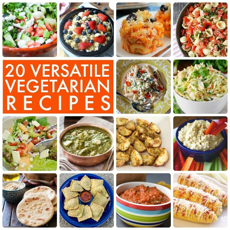 Great Vegetarian Recipes  Great Ideas 20 Versatile Ve arian Recipes