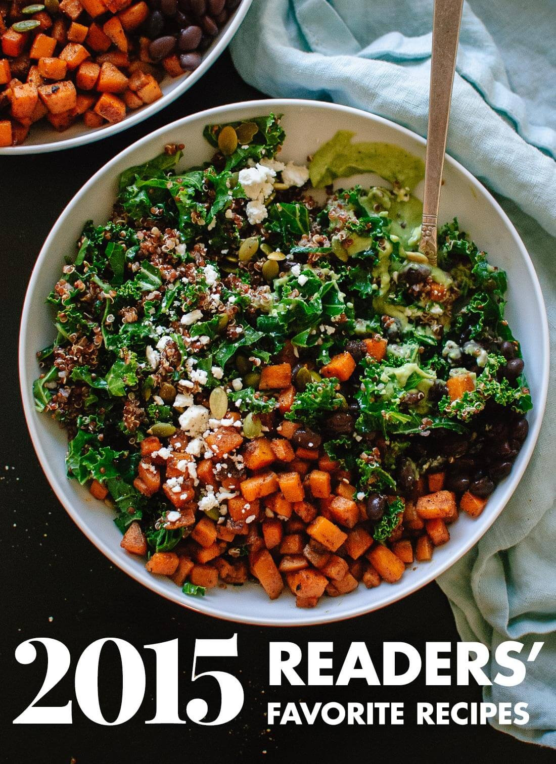 Great Vegetarian Recipes  Your Top 10 Recipes from 2015 Recipes