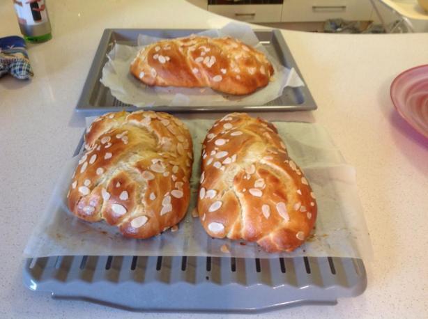 Greek Easter Bread Recipe  Tsoureki Greek Easter Sweet Bread Recipe Food