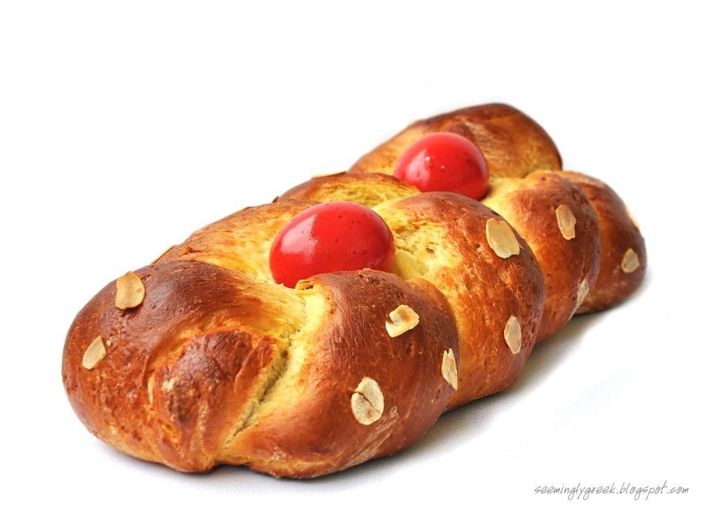 Greek Easter Bread Recipe  Travel for Greek Orthodox Easter