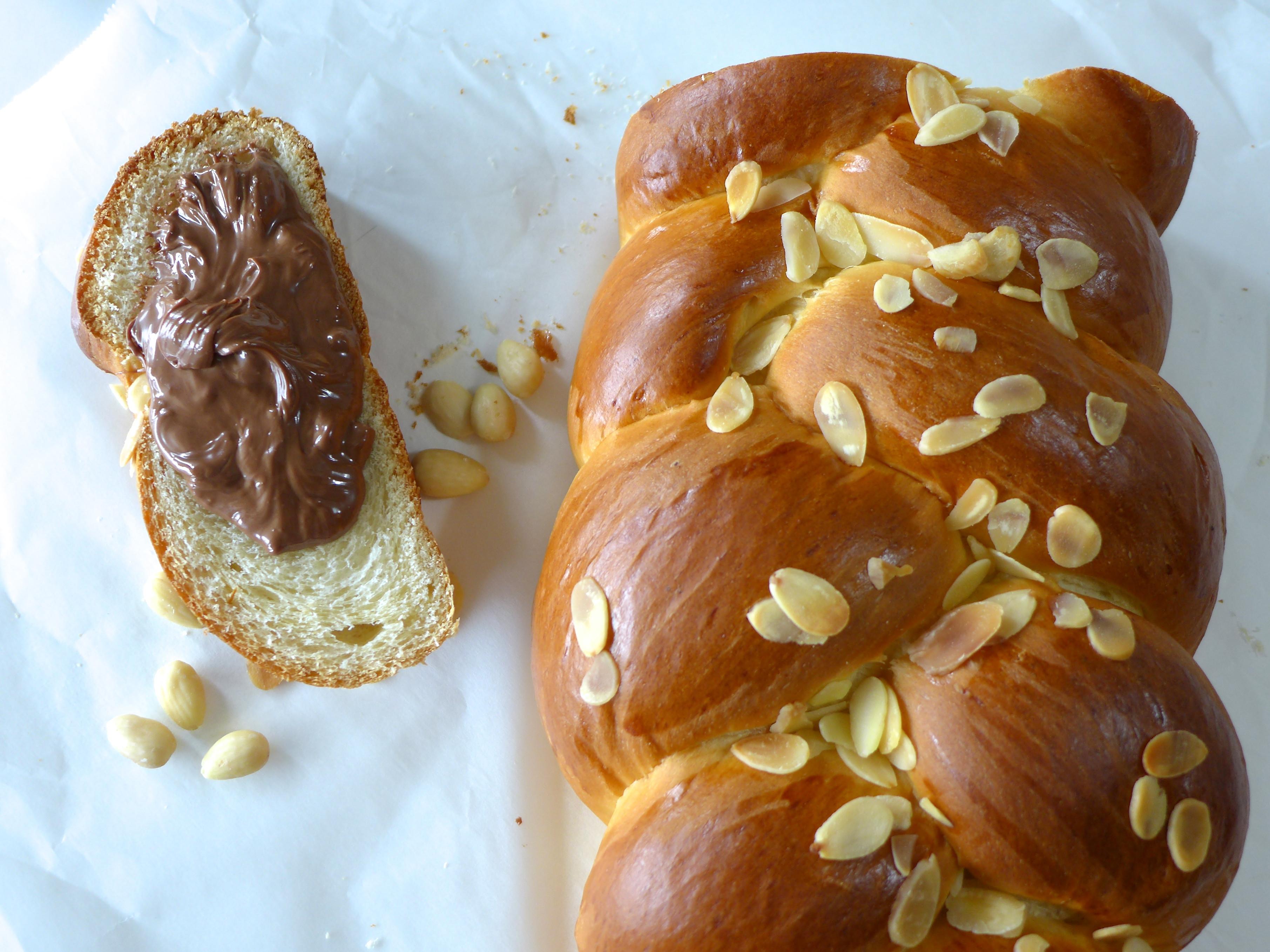 Greek Easter Bread Recipe  Tsoureki recipe Traditional Greek Easter bread My