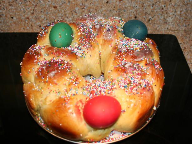 Greek Easter Bread Recipe  Tsoureki Greek Easter Bread Bread Machine Recipe Recipe