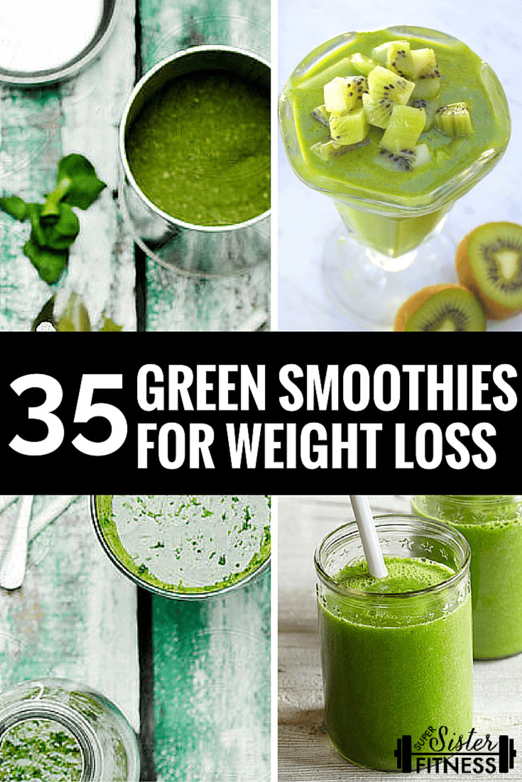 Green Smoothie Recipes For Weight Loss  35 BEST Green Smoothie Recipes For Weight Loss