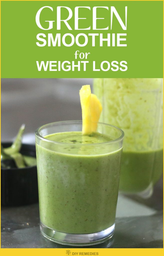 Green Smoothies Weight Loss  Green Smoothie for Weight Loss