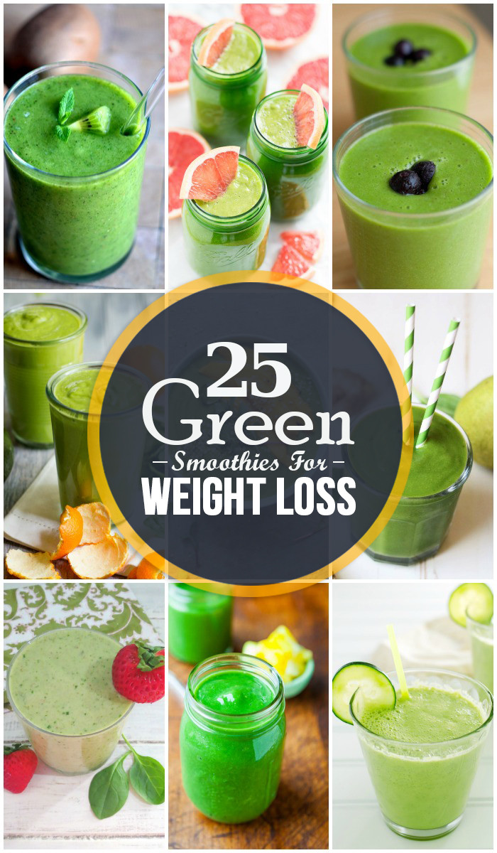 Green Smoothies Weight Loss  Top 25 Green Smoothies for Weight Loss