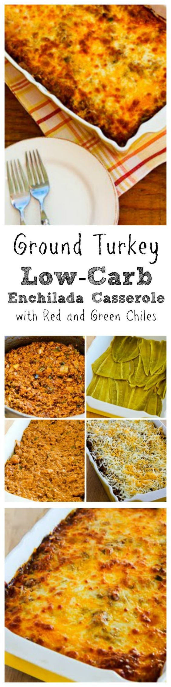 Ground Turkey Casserole Low Carb  Pinterest • The world's catalog of ideas