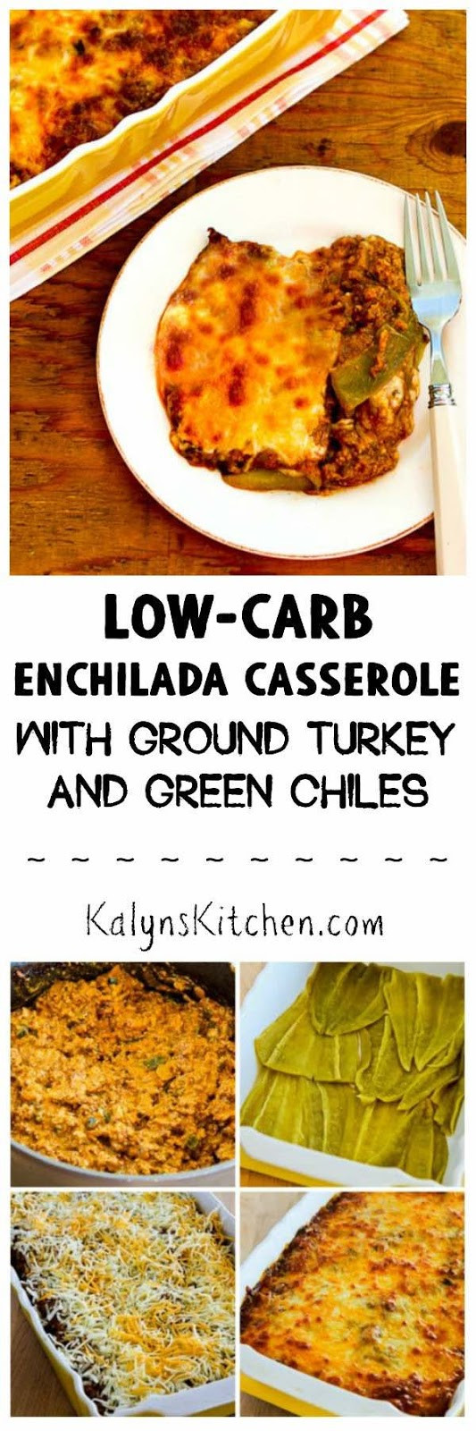Ground Turkey Casserole Low Carb  Kalyn s Kitchen Low Carb Enchilada Casserole with Ground