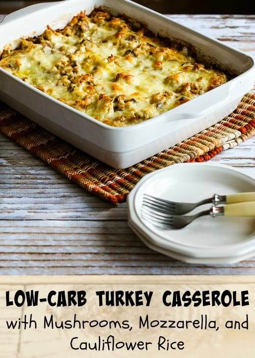 Ground Turkey Casserole Low Carb  Enoki mushrooms rice casserole Cook and Post