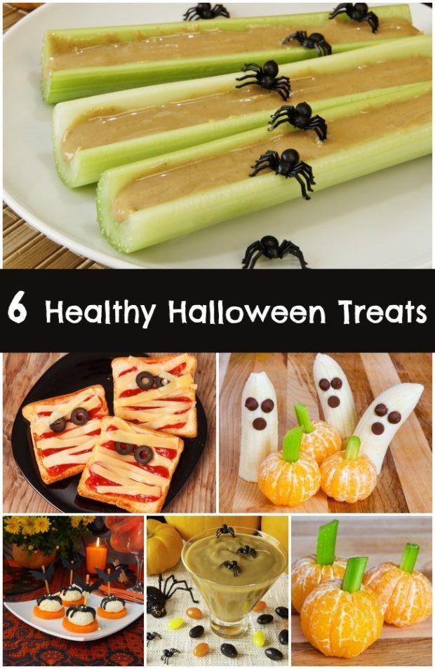 Halloween Healthy Snacks  6 Healthy Halloween Treats