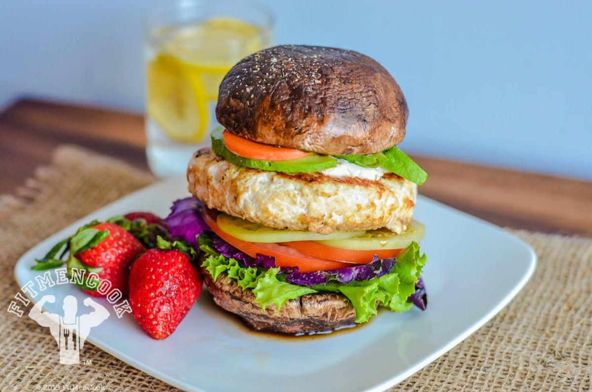 Hamburger Recipes Low Carb  Epic Low Carb Chicken Burger Fit Men Cook