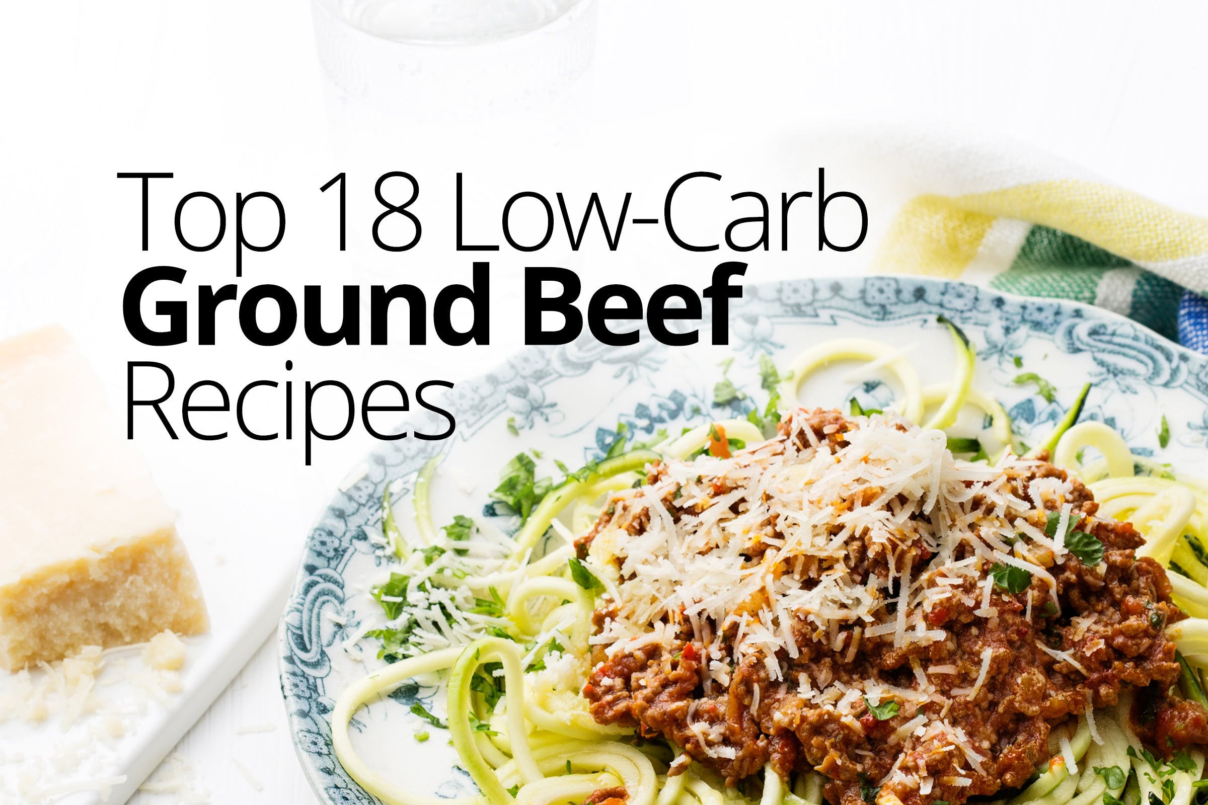 Hamburger Recipes Low Carb  Low Carb and Keto Ground beef Recipes – Quick and Easy