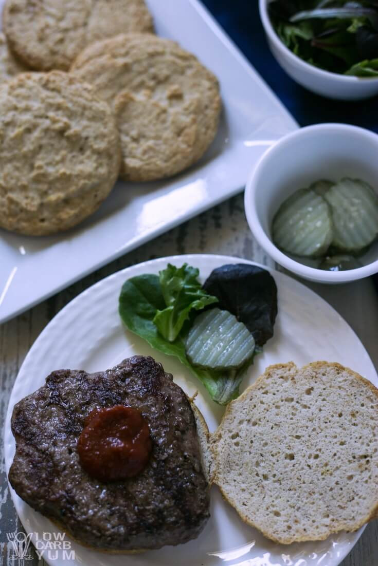Hamburger Recipes Low Carb  Low Carb Hamburger Buns Recipe Keto Paleo