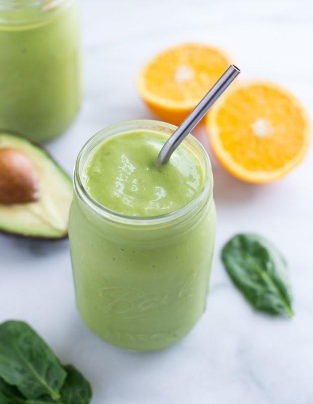 Healthy Avocado Smoothie Recipes  Orange Avocado Smoothie Making Thyme for Health