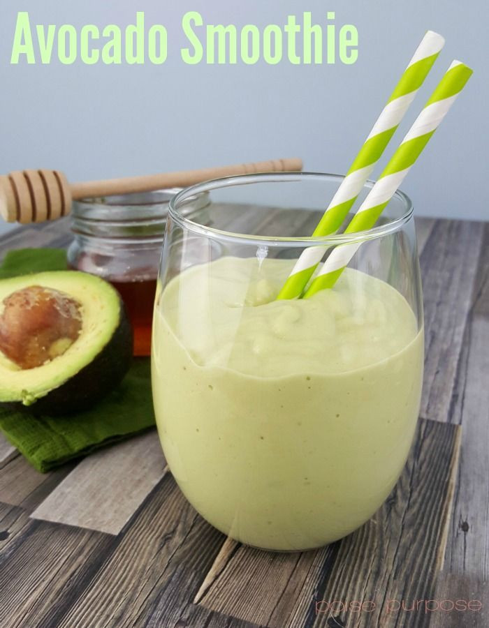 Healthy Avocado Smoothie Recipes  229 best Healthy & Delicious Eating images on Pinterest