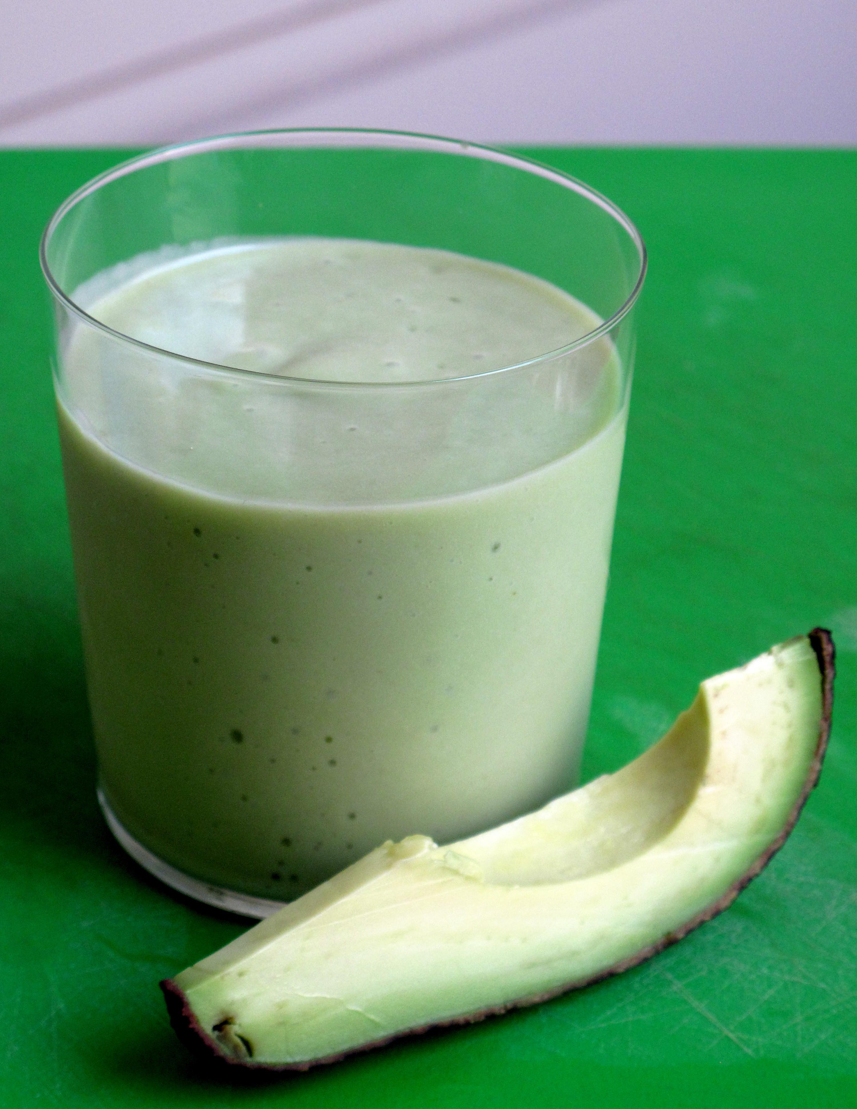 Healthy Avocado Smoothie Recipes  Healthy Fast Avocado & Pear Smoothie Recipe