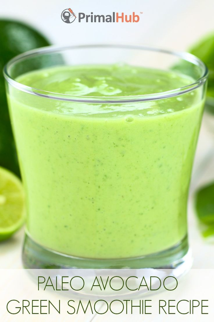 Healthy Avocado Smoothie Recipes  17 Best images about Paleo Breakfast Recipes on Pinterest
