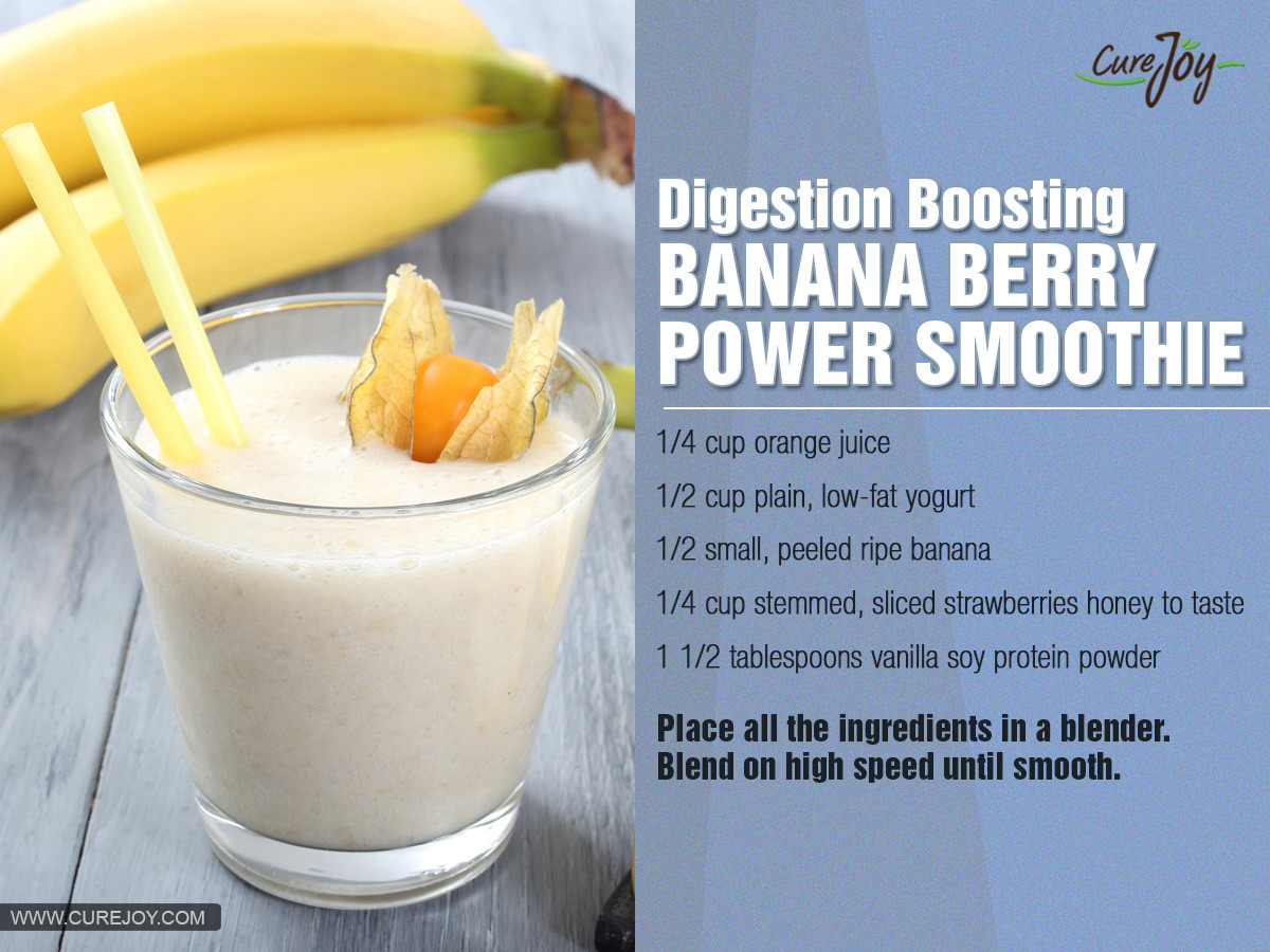 Healthy Banana Smoothies For Weight Loss  healthy banana smoothie recipes for weight loss