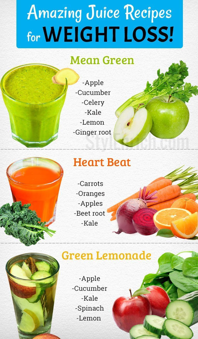 Healthy Blender Recipes For Weight Loss  Juice Recipes for Weight Loss Naturally in a Healthy Way
