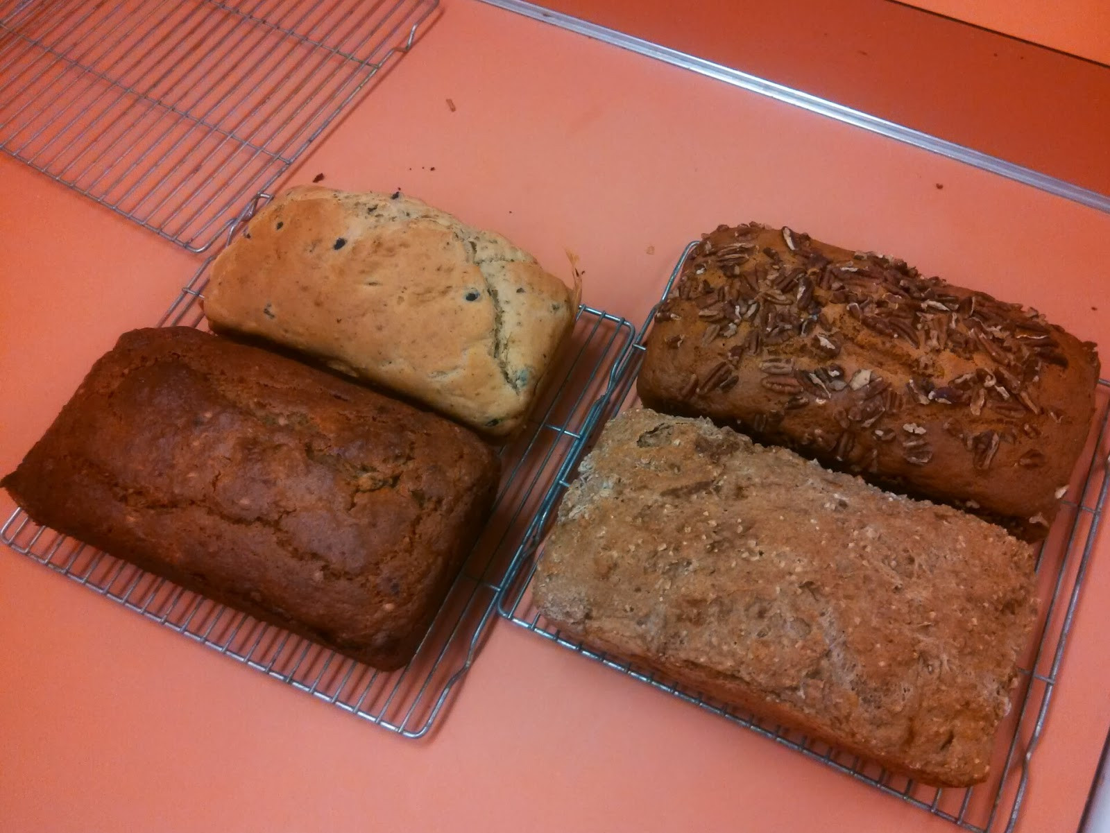 Healthy Bread Options  MzKaylaPinz Quick Breads Lab Four Healthy Quick Loaf