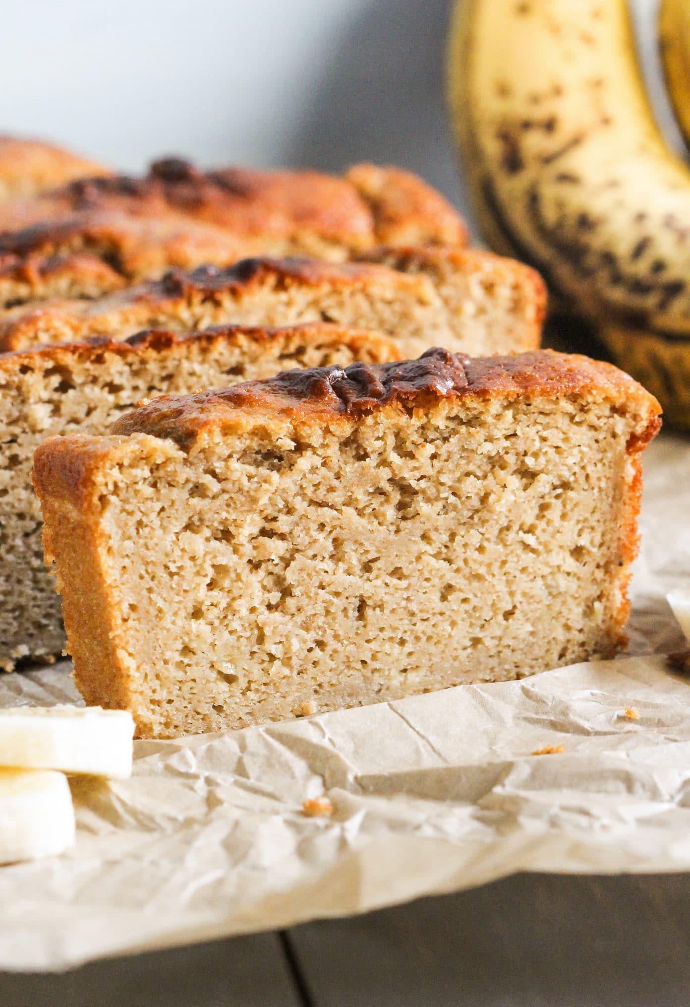 Healthy Bread Options  Healthy Banana Bread Pound Cake