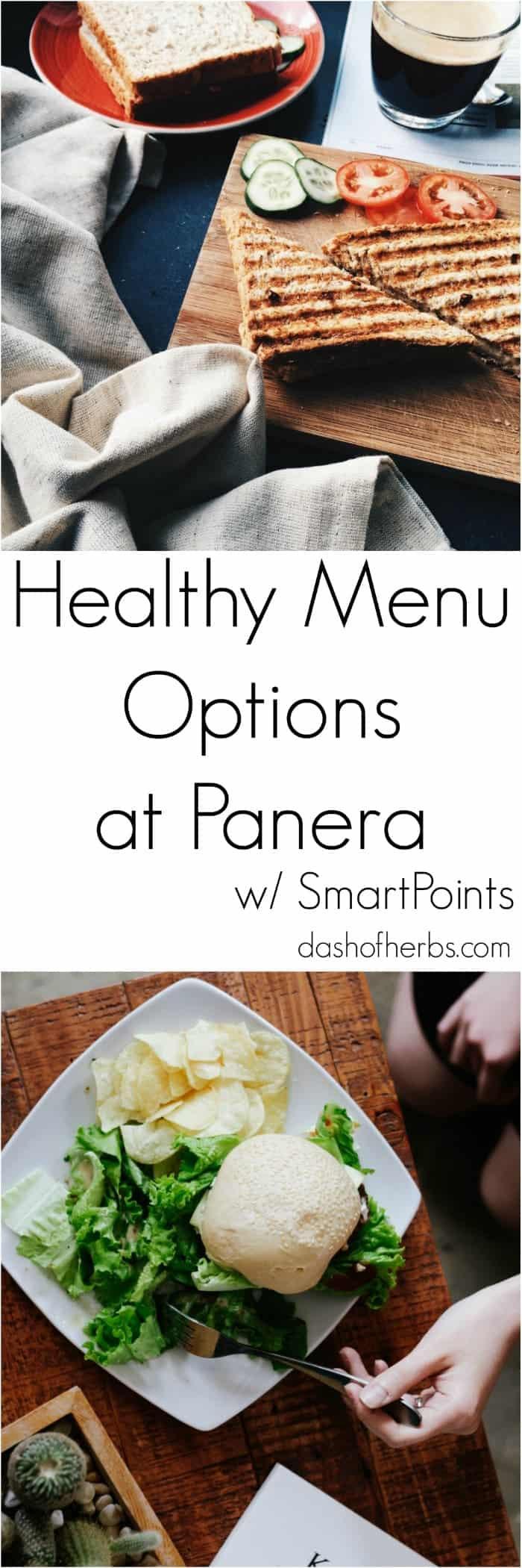 Healthy Bread Options  Healthy Menu Options at Panera Bread Dash of Herbs