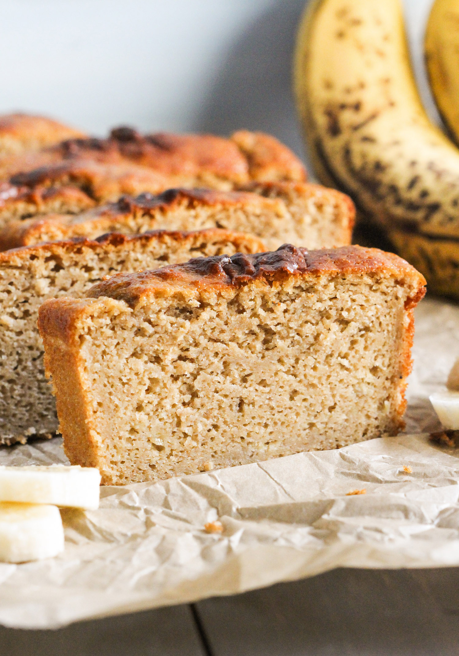 Healthy Bread Recipes  Healthy Banana Bread Pound Cake Recipe