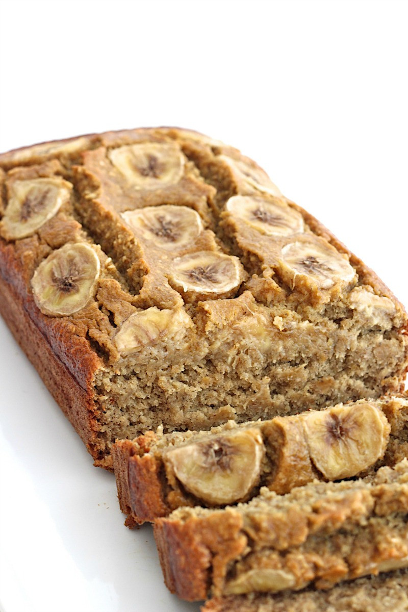 Healthy Bread Recipes  Healthy 5 Ingre nt Flourless Banana Bread