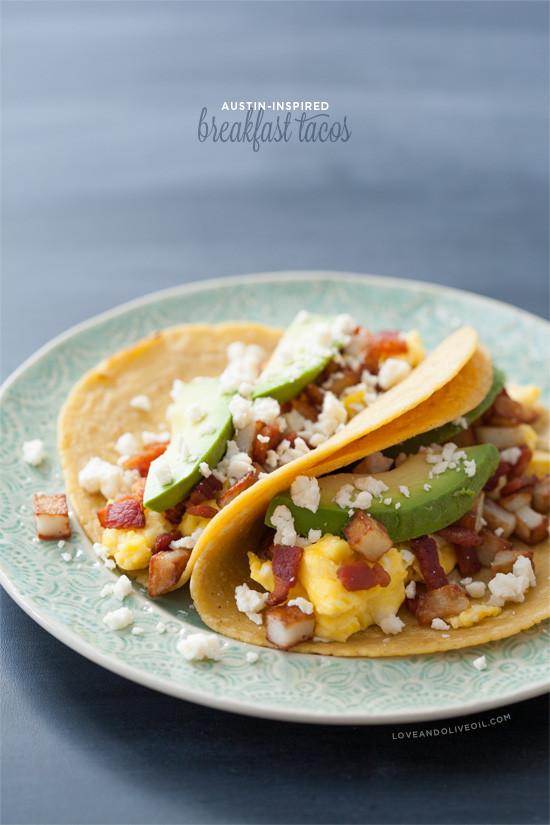 Healthy Breakfast Austin  Breakfast Tacos