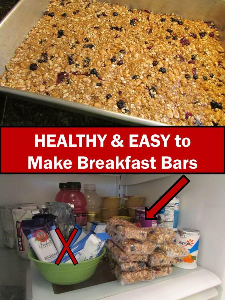 Healthy Breakfast Bars  Teachers Pay Teachers Promoting Success