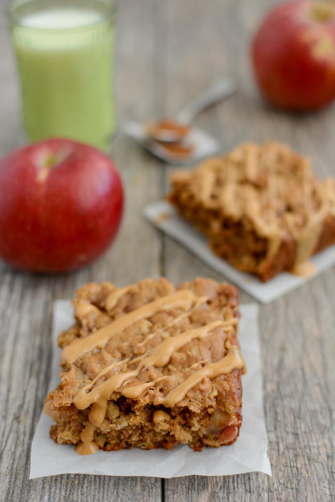 Healthy Breakfast Bars  Apple Cinnamon Breakfast Bars