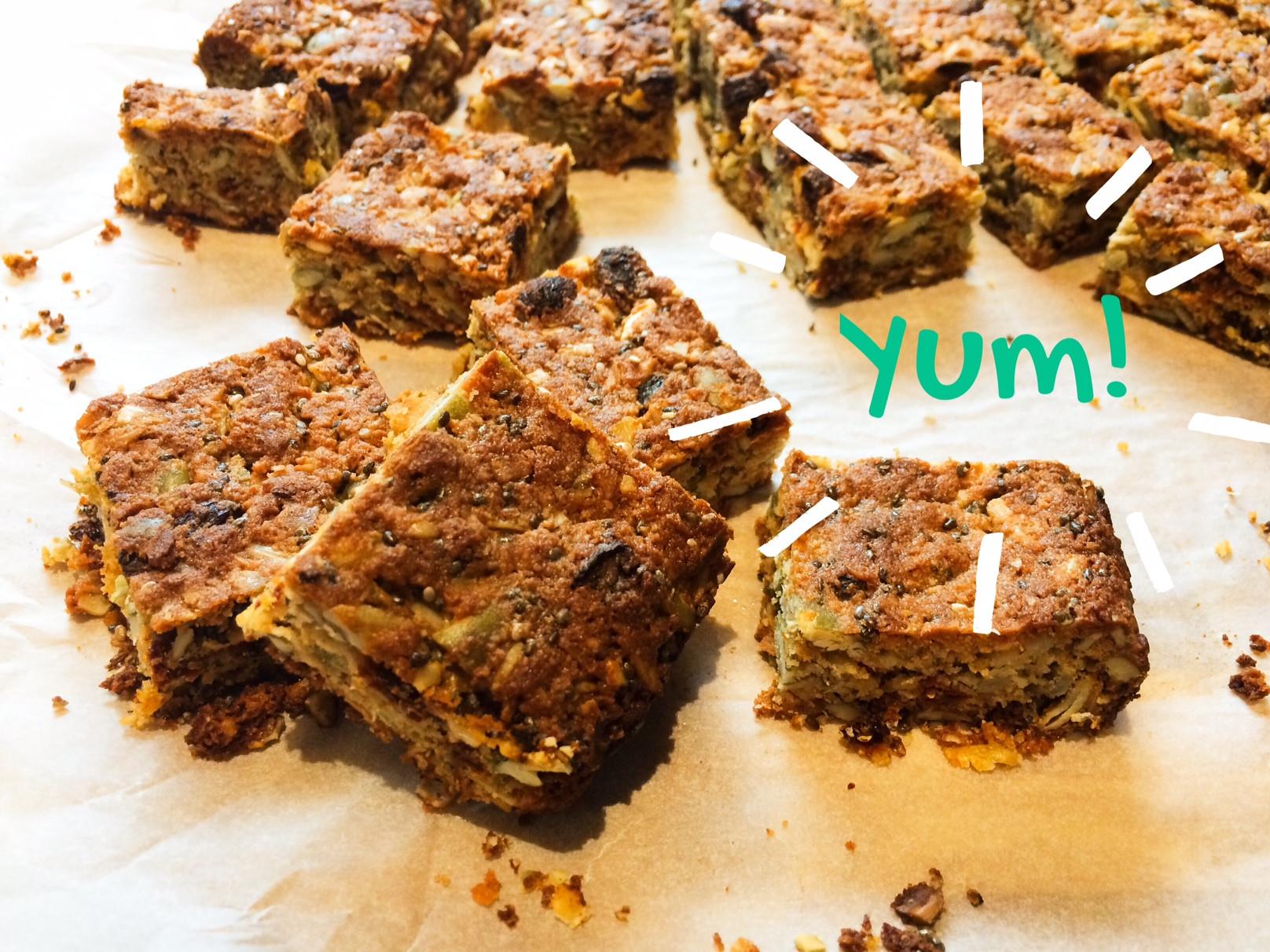 Healthy Breakfast Bars  Super Healthy Breakfast Bars LoulouZoo