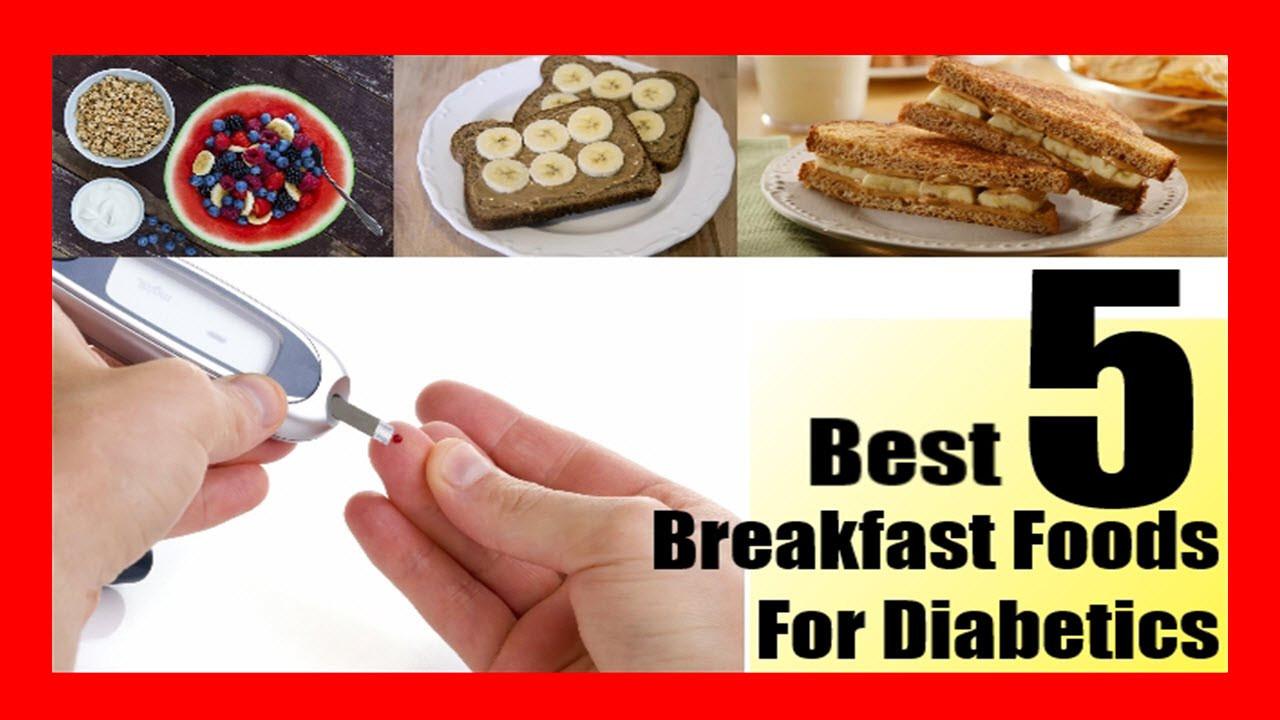 Healthy Breakfast For Diabetics  diabetic fast food breakfast