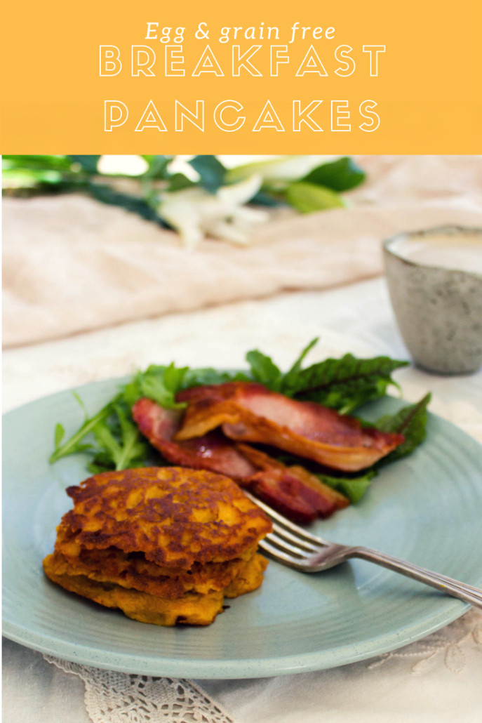 Healthy Breakfast No Eggs  How to make healthy breakfast pancakes with no eggs