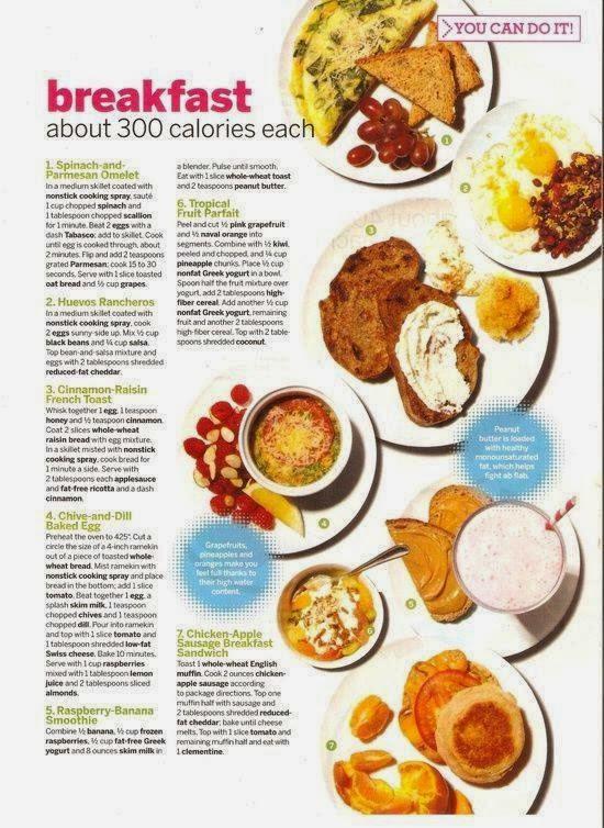 Healthy Breakfast Weight Loss  Babe in Total Control of Herself Healthy Breakfast Ideas