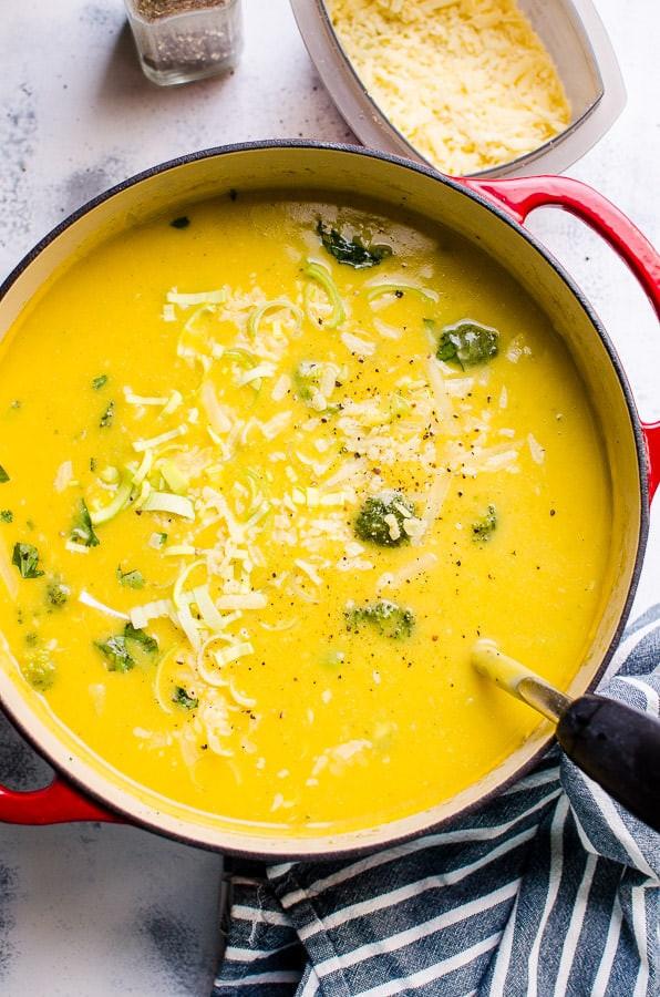 Healthy Broccoli Soup Recipe  Healthy Broccoli Cheese Soup iFOODreal Healthy Family