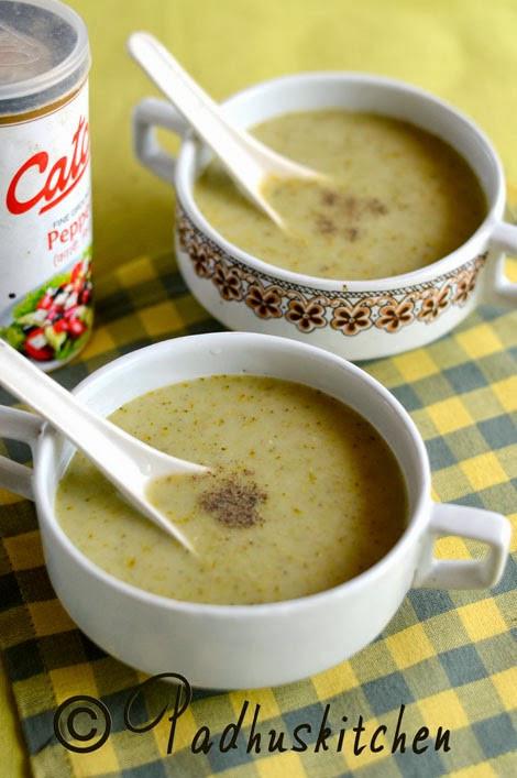 Healthy Broccoli Soup Recipe  Healthy Broccoli Soup Recipe Simple Broccoli Soup Low Fat