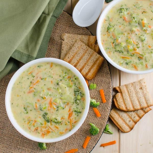Healthy Broccoli Soup Recipe  A Must Try Creamy Dreamy & Healthy Broccoli Soup