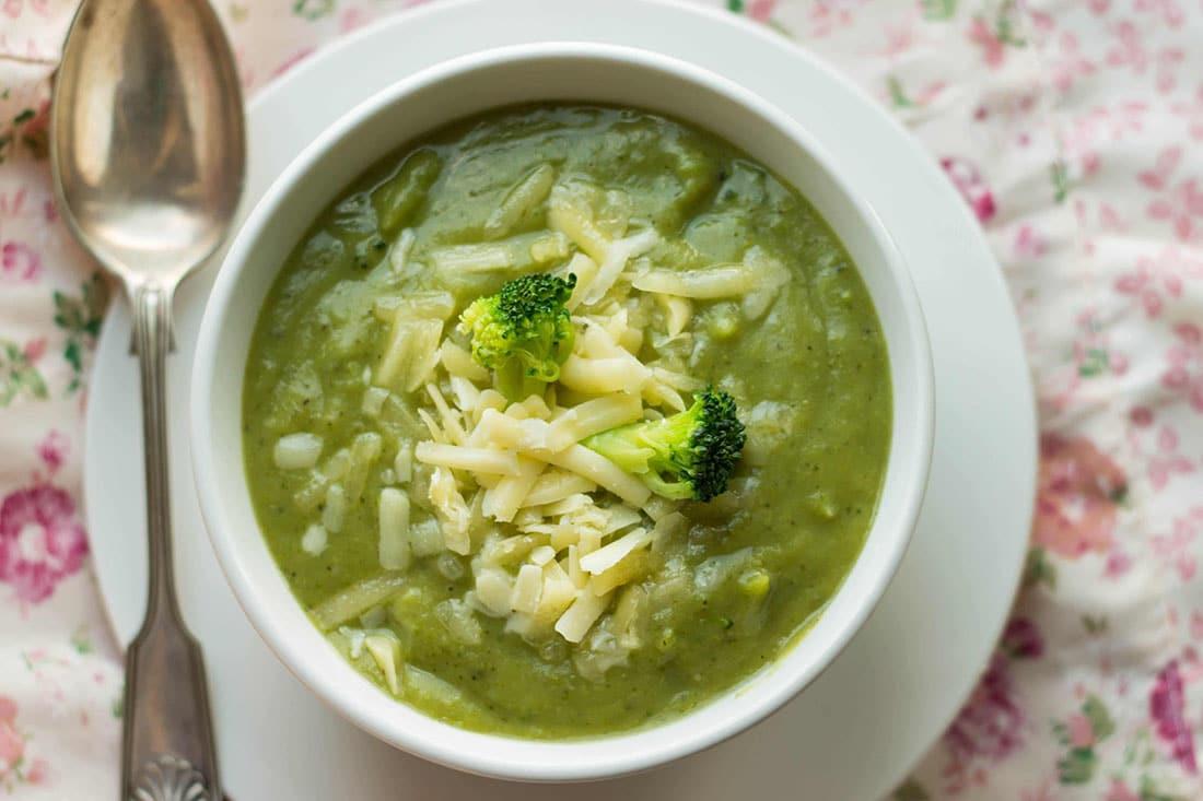 Healthy Broccoli Soup Recipe  Healthy Creamy Broccoli Soup Indulgent with no cream