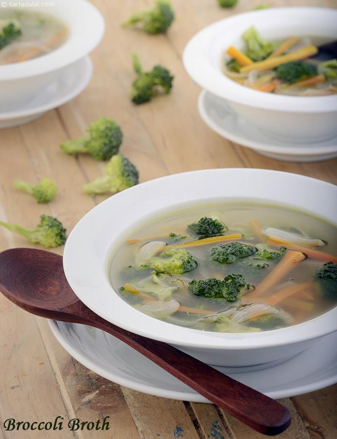 Healthy Broccoli Soup Recipe  Broccoli Broth Healthy Soups and Salads Recipe recipe