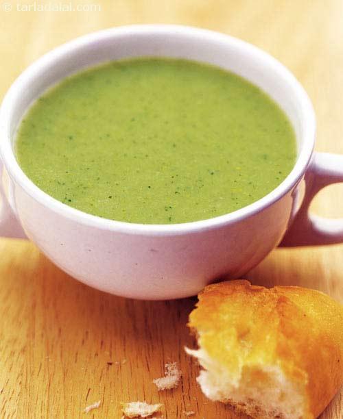 Healthy Broccoli Soup Recipe  Cream Broccoli Soup Healthy Diabetic Recipe recipe