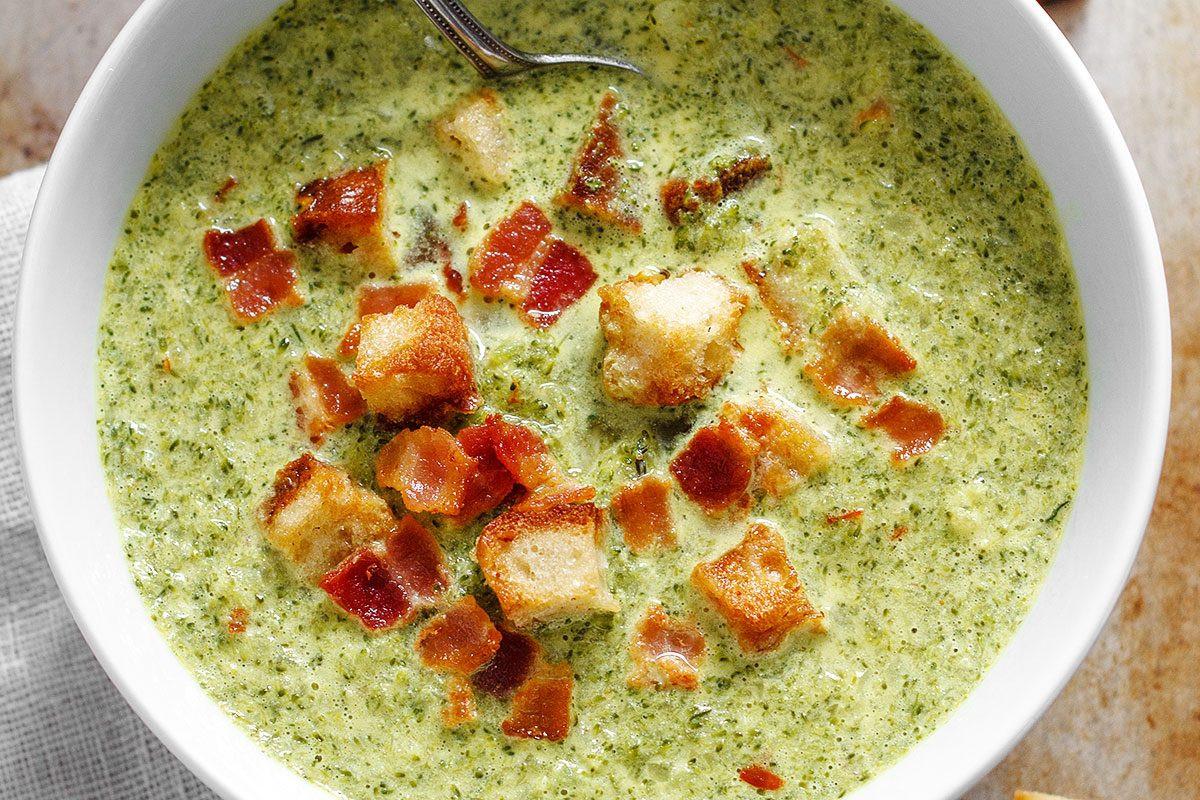 Healthy Broccoli Soup Recipe  Broccoli Cheese Soup Recipe — Eatwell101