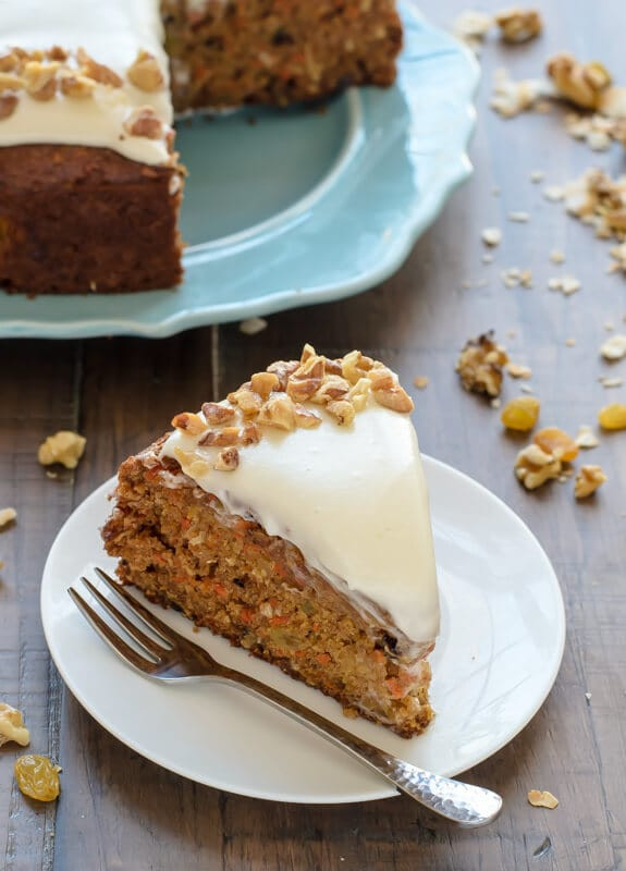 Healthy Carrot Cake Recipe With Pineapple  Healthy Carrot Cake with Light Cream Cheese Frosting