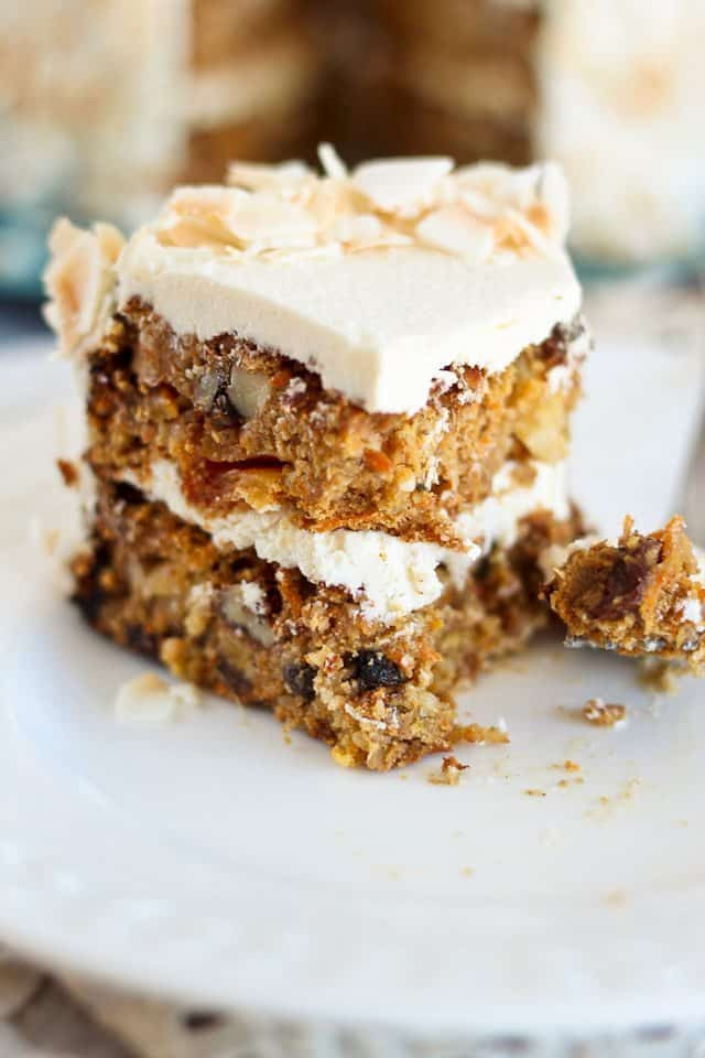 Healthy Carrot Cake Recipe With Pineapple  Paleo Carrot Cake